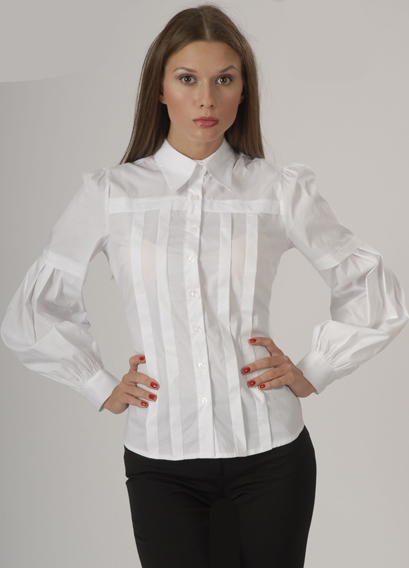 Черно Белая Блузка В Омске